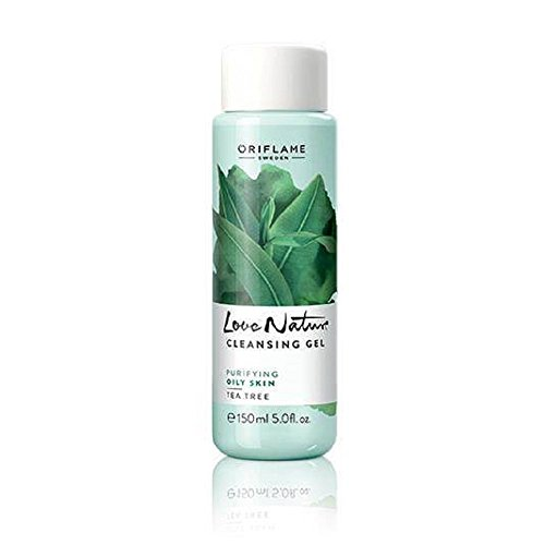 Love Nature Tea Tree Cleansing Gel 150ml for Oily Skin
