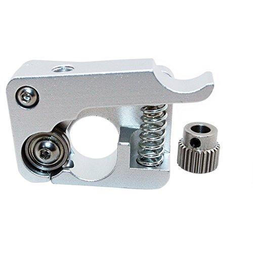 Redrex Aleación de aluminio Impresora 3D MK8 Bowden Extrusora Mano Derecha