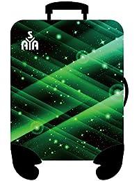 YISAMA Cobertor, Fundas o Forros de Maletas Mediana Espacio Verde (55x64 cm)