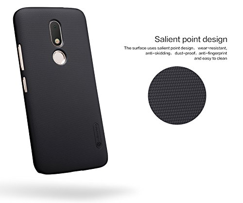 buy popular 52a8b 4df42 NILLKIN Frosted Shield Hard Back Cover Case for Motorola Moto M (5.5 inch)-  Black Buy NILLKIN Frosted Shield Hard Back Cover Case for Motorola Moto M  ...