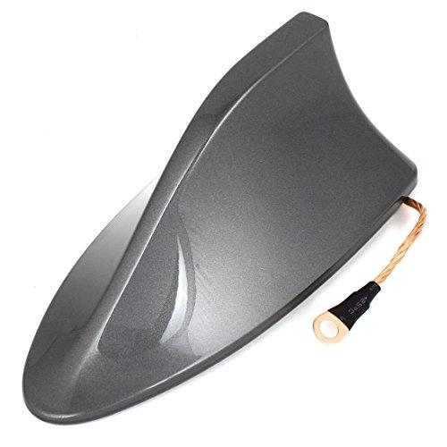 coche-plastico-gris-aleta-de-tiburon-diseno-adhesivo-base-antena-16cm-largo-para-2014-toyota-rav4