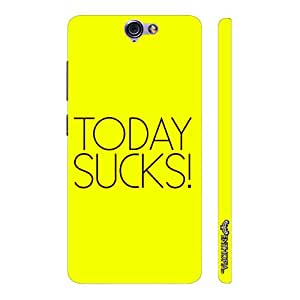 HTC One A9 TODAY SUCKS designer mobile hard shell case by Enthopia