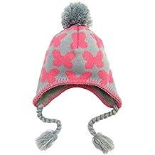 fangkuai-hat Sombrero de Punto Niños Invierno Exterior Mariposa Gorro con  Pompón Beanie Gorro Peruano e9a20b0af13