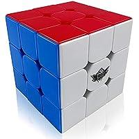 FAVNIC Cyclone Boys Speed Cube Stickerless Enhanced Version Smooth Magic Cube Puzzles(X-3X3X3)
