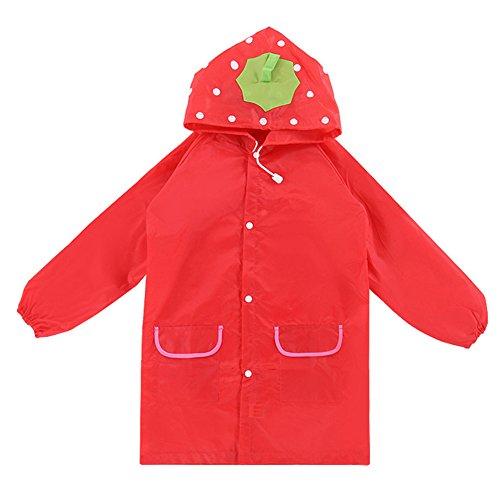Hrph Kids Rain Coat Animal Style Children Waterproof Raincoat Rainwear Unisex Cartoon Kids Raincoats