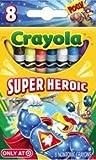 Crayola Super Heroic 8 Count Crayola Box