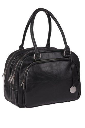 Lässig Tender Multizip Bag Wickeltasche/Babytasche inkl. Wickelzubehör, black