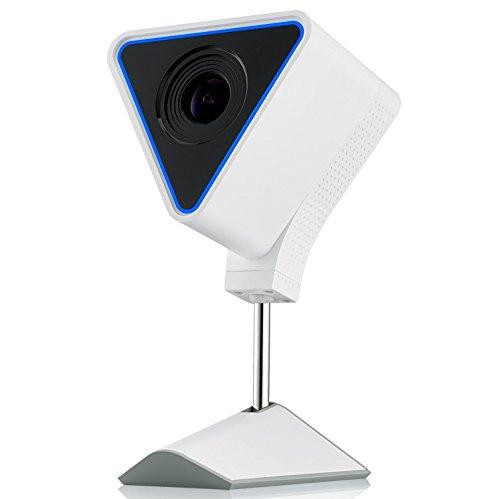 Zyxel Aurora Cloud IP-Kamera mit 1080P HD, Wireless-Sicherheit und Audio, Alarm, Speicher, APP [CAM3115]