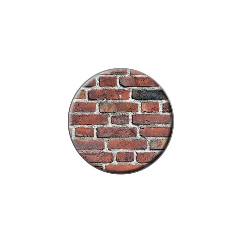 Brick Wall – Bricks Mason Mauerwerk Metall Revers Hat Shirt Handtasche Pin Krawattennadel - Graphics Brick Wall