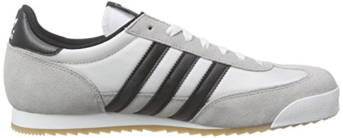 adidas Dragon, Baskets Basses Homme Blanc (Ftwr White/Core Black/Gold Met)