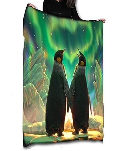 Pingouin Aurora–Polaire/couvre-lit/tapisserie