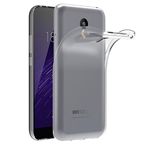 Meizu M2 Note Hülle, iVoler Premium Hülle Tasche Schutzhülle Case Cover Transparent Klare Weiche TPU Silikon Gel Schutzhülle Bumper Löschen Back für Meizu M2 Note