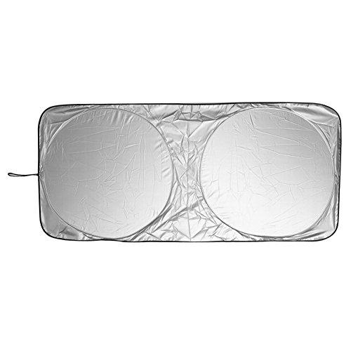 Hinter Fenster (Demiawaking Auto vorder hinter Windschutzscheibe faltbar Car Fenster Schatten Schild Abdeckung Visier UV-Block Sonnenschirm)