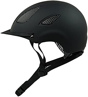 Casco de equitación para K31para niños y adultos en color negro, incluye práctica bolsa casco para el transporte y guardar