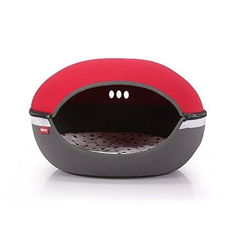 Ibiyaya Little Arena Pet Bed, Red