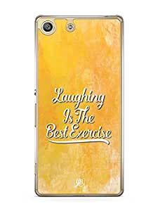 YuBingo Laughing is the Best Exercise Designer Mobile Case Back Cover for Sony Xperia M5