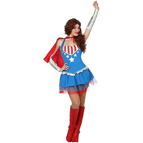 Atosa - 23128 - Traje - superheroína Disfraz - Adulto - Tamaño 3