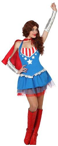 Imagen de atosa  23126  traje  superheroína disfraz  adulto  tamaño 2