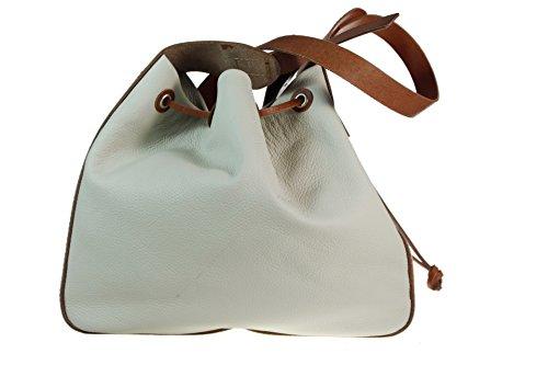 RAVE-CRAFT , sac bandoulière femme creme-cognac