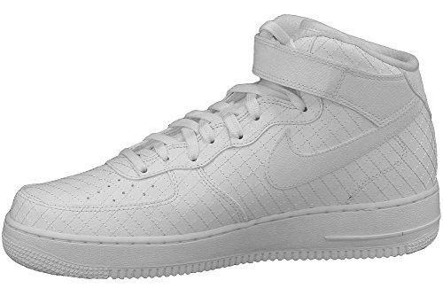 huge discount 7dc1b 35135 Nike Air Force 1 Mid '07 Lv8, espadrilles de basket-ball homme Blanc ...