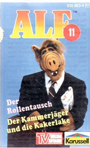 ALF MC Hörspielkassette (TV Original Aufnahme) # 11: Der Rollentausch & Der Kammerjäger und die Kakerlake