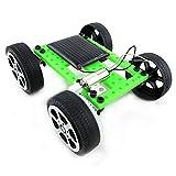 GUIGSI Auto Solare[DIY Assemblare], Automobile Alimentata Energia Solare Giocattolo Set, Mini Auto Giocattolo Scienza Educativo per Studenti/Bambini (1 pc/Verde)