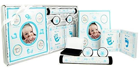 New Baby Boy Gift 5 Piece Keepsake Set First Photo