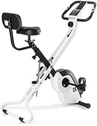 CAPITAL SPORTS Azura 2 X-Bike Ergometer Heimtrainer (Ausdauertraining und Cardio, 8-stufiger Widerstand, faltbar, max. 120 kg, mit Trainingscomputer) verschiedene Farben