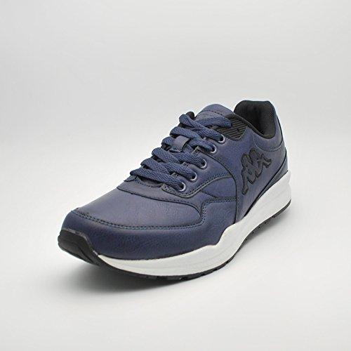 Kappa Dares Chaussures en cuir synthétique bleu marine Black Multicolore