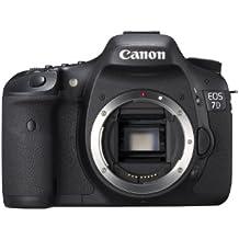 """Canon EOS 7D - Cámara réflex digital de 18 Mp (pantalla 3"""", vídeo Full HD), color negro - sólo cuerpo (importado)"""