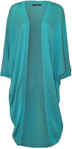 Comfiestyle - Gilet - Cardigan - Manches Longues - Femme Turquoise