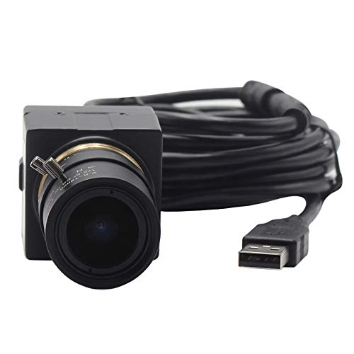 ELP 8MP Webcam 2.8-12mm Manuell Objektiv mit Variable Fokus HD Kamera USB