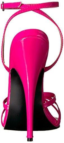 Pleaser EU-DOMINA-108 DOM108/B, Sandali col tacco donna Hot Pink Pat