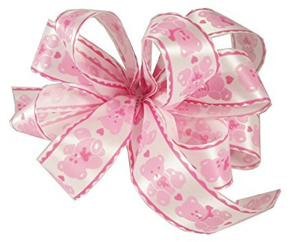 Zipperstop Offray Baby Bear Acetate Ribbon, 1 5/16