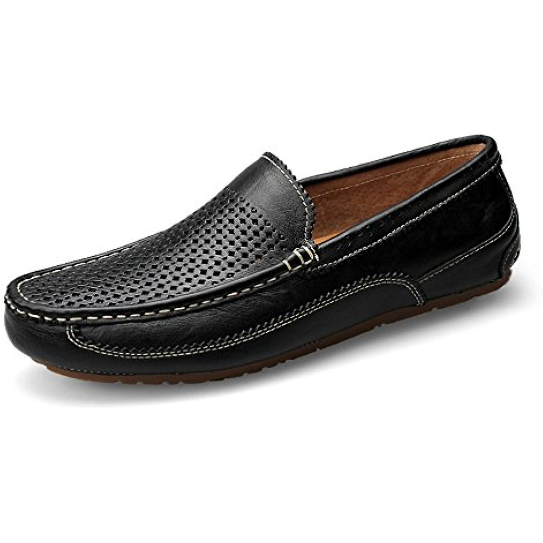 Xuanbao Marche Chaussure de Marche Xuanbao pour Homme Mocassins Penny à Pointe Plate Mocassins à Bout Plat Sneaker en Cuir décontracté... - B07HWP358Q - fd08b8
