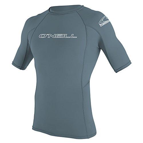 O'Neill Men's Basic Skins Short Sleeve Rash Vest