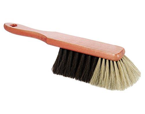 wenco Handfeger, Echtes Rosshaar, Holz, Länge: 30 cm, Braun/Beige/Schwarz, 506274