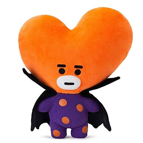 Yovvin BTS Plüschtiere, Kpop Bangtan Jungen Halloween Stil Weiche Plüsch Kissen Puppe für Sofa Schlafzimmer Auto, The Army( TATA) (Fun Zu Facts Halloween)