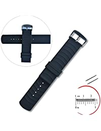 Yeworth? Silicone Watchband Wristband For Samsung Galaxy Gear 2 R380, Neo R381, Live R382, LG G Watch W100/W110...
