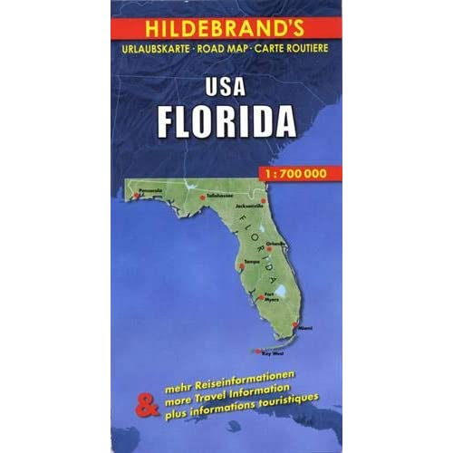 Carte routière : USA, Florida
