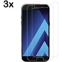 [3-Unidades] Protector de Pantalla Samsung Galaxy A5 2017 , DALATO Cristal Vidrio Templado Premium [9H Dureza]