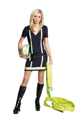 Rubie's 1 3605 36 - Sexy Feuerwehrfrau Kostüm, Größe 36, - Sexy Feuerwehr Kostüm