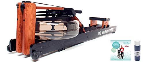 NOHrD Rudergerät Waterrower Club Inklusive Trainingsanleitung und Wasserfarbe