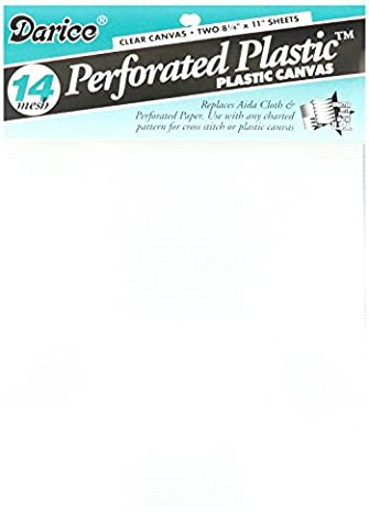 Perforated Plastic Canvas 14 Count 8.5