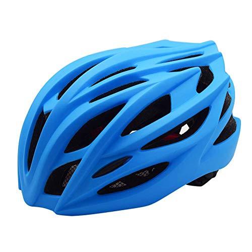 XFKLLL Helmreithelm Straße/Sporthelm Straße Mountainbike Fahrradhelm (Blau,L)