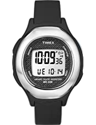 Timex Health Touch- Fullsize Digitaluhr ~ LCD Dial Digital Display ~ Black Resin Strap ~ T 5K470 F7