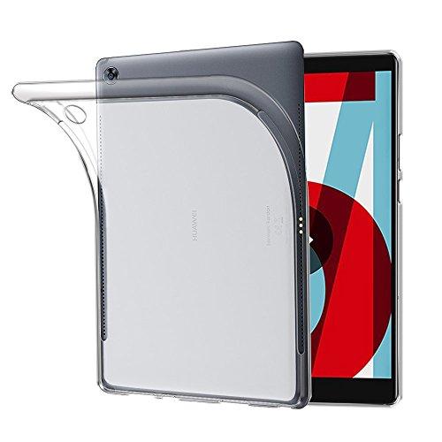TOPACE Hülle für Huawei MediaPad M5 10.8, TPU Hülle Schutzhülle Crystal Case Durchsichtig Klar Silikon transparent für Huawei MediaPad M5 10.8