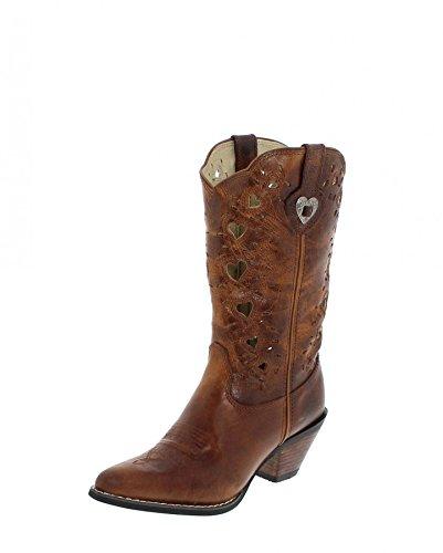 Durango Boots Stiefel HEART CUTOUT Damen Westernstiefel