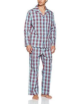 Seidensticker Herren Zweiteiliger Schlafanzug Seidensticker Pyjama Lang