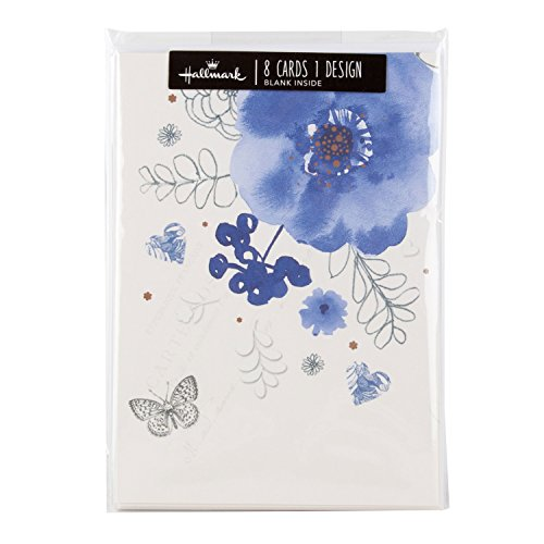 hallmark-floral-blank-cards-pack-of-8